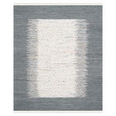 hand-woven cotton rug