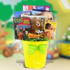 Easter Gift Basket for Children with Animal Planet.  List Price: $89.99  Sale Price: $54.99  Savings: $35.00