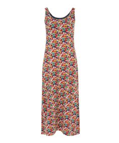 Liberty London for Uniqlo Arrow Small A Printed Long Bra Dress | Womenswear | Liberty.co.uk