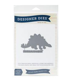 Echo Park Paper Company™ Designer Dies-Stegosaurus Large