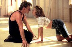 """""""Me? I'm scared of everything. I'm scared of what I saw, I'm scared of what I did, of who I am, and most of all I'm scared of walking out of this room and never feeling the rest of my whole life the way I feel when I'm with you.""""    —Baby (Jennifer Grey) to Johnny (Patrick Swayze)"""