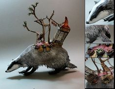portfolio Ellen Jewett badger of burden