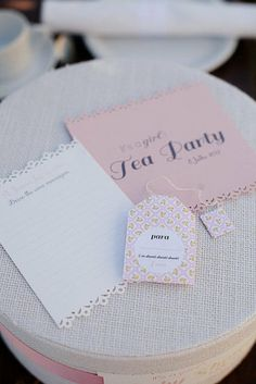 {Featured on LilSugar} Tea Party :: by Chic Up Your Party