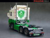 Scania R730 V8: A LEGO® creation by Bricksonwheels MOC : MOCpages.com