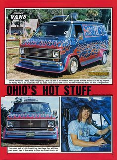 Hot Stuff custom van