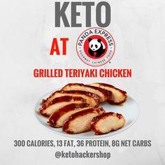 Keto at Panda Express. Keto tips and tricks. Keto Diet Plan, Low Carb Diet, Ketogenic Diet, Low Carb Recipes, Diet Recipes, Diet Meals, Vegan Recipes, Keto Restaurant, Skinny