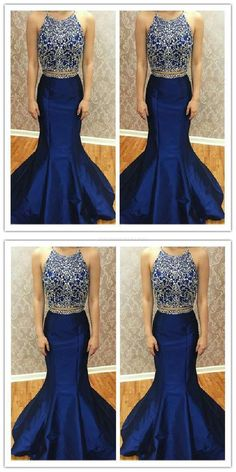 53c6897775 Custom Made Charming Hot Sale Great Two Pieces Prom Dress