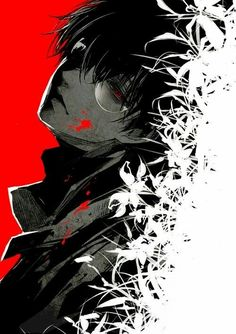 Haise pelo negro. Tokyo Ghoul:re