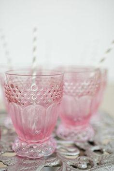 pink glass by barbm