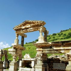 The ancient site of Ephesus - Footsteps of Apostle Paul tour