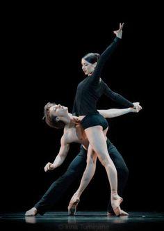 "Nikolay Krusser Николай Круссер Elena Podymova Елена Подымова as ""Death"", ""Romeo and Juliet"", Leonid Yacobson Ballet"
