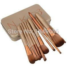2015 venta caliente 12 unids nueva nake 3 cepillo, NK3 maquillaje pinceles Sets kit para sombra de ojos colorete cosmético pinceles Tool