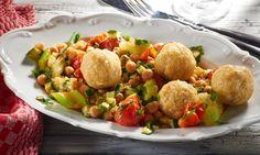 Couscous-Bällchen auf Kichererbsen Rezept | Dr. Oetker