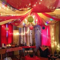 Tween Party Inspiration Bollywood Decorations Theme Moroccan