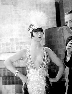 "Louise Brooks in ""The American Venus"", 1926."