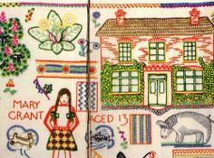 Priscilla M Warner Embroidery Mary H B 1st Edition 1948 Harrap Illustrated | eBay