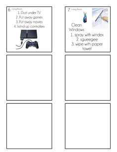 Chore Cards {Chore Flip Charts} - Tips from a Typical Mom Kids Checklist, Kids Schedule, Chore Cards, Routine Chart, Chore Chart Kids, Behaviour Chart, Summer Activities For Kids, Toddler Activities, Chores For Kids