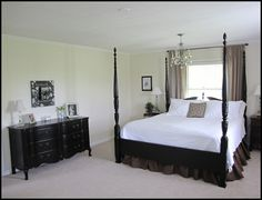 Before and After pictures of my master bedroom. | Beneath My Heart