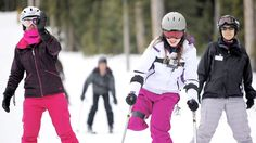 Disabled Teens Learn How To Ski