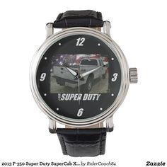 2013 F-350 Super Duty SuperCab XL Long Bed 4x4 Wristwatch