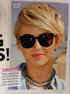 Julianne Hough's pixie