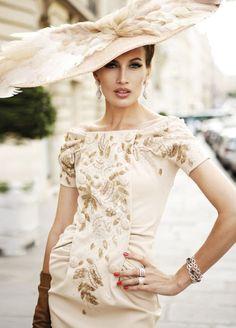 fabulous hat in italian style