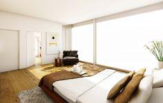 STOMEO Architektur Visualisierung - Zürich Floor Chair, Flooring, Bed, Furniture, Home Decor, Architecture Visualization, Real Estates, Floor Layout, Bed Room