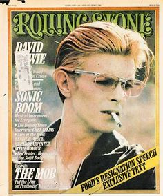 David Bowie - Rolling Stone Cover 1976