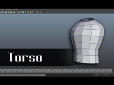 Modeling a Character in Maya - part 3 of 10 - YouTube