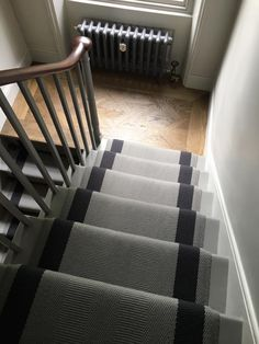 Ashington 1 stair runner by Off The Loom Ltd.  www.offtheloom.co.uk