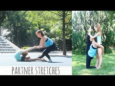 Partner Stretches for Improving Flexibility - YouTube