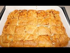 YouTube Greek Cooking, Spanakopita, Greek Recipes, Apple Pie, Meals, Ethnic Recipes, Desserts, Youtube, Food