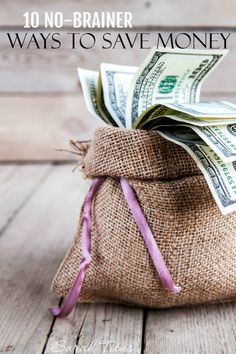 Sometimes all you want to do is make a few simple changes and see instant results. Things that you can literally do without thinking about them. Today I'm sharing 10 No-Brainer Ways to Save Money on Parents.com.