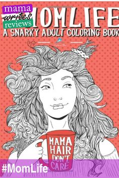 This is a super fun #adultcoloringbook all about being a #mom. #momlife #coloring #coloringbook #review