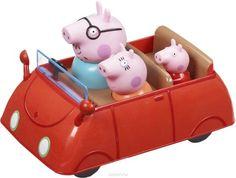 Машина семьи Пеппы, фигурки несьемные