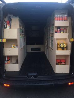 The UK's only van racking system with trades people in mind. Unique system to suit all trades people. Van Storage, Trailer Storage, Truck Storage, Tool Storage, Van Organization, Garage Organisation, Van Racking Systems, Van Racking Ideas, Vw T5