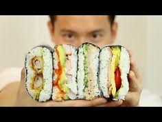 RICE SANDWICH ONIGIRAZU RECIPE - おにぎらずレシピ - COOKING WITH CHEF DAI - YouTube