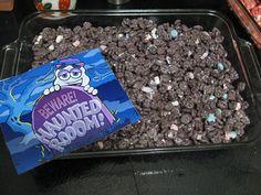 Boo Berry marshmallow treats!