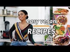 4 EPIC EASY VEGAN RECIPES   Vegan Breakfast & Lunch Recipes