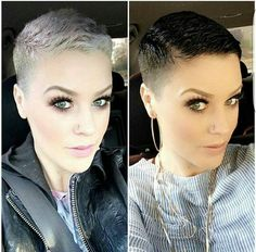 Likes, 431 Comments - Short Hair Pixie Cut Boston ( on I. Likes, 431 Edgy Short Hair, Super Short Hair, Short Hair Cuts, Short Hair Styles, Pixie Cuts, Shaved Pixie Cut, Girls Short Haircuts, Sassy Hair, Hair Looks