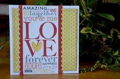 """""""Love"""" card by Allison Davis"""