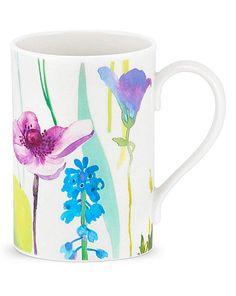 Portmeirion Water Garden Set of 4 Mugs