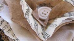 Come fare i fiori di carta e stoffa seguendo il tutorial semplice