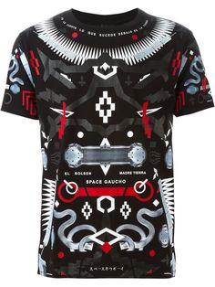 Marcelo Burlon County Of Milan Graphic Print T-shirt - Suit - Farfetch.com