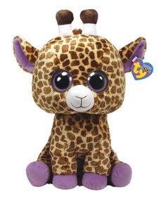 Loving this Safari the Giraffe Beanie Boo on #zulily! #zulilyfinds