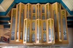 Pipe organ in St Peter Ording, Germany (96 pieces)