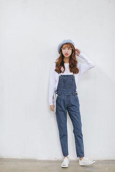 Buy Sienne Striped Jumper Jeans | YesStyle