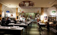 Eataly - 200 5th Avenue, Manhattan - a bustling Italian market/eatery; several dining options including rooftop