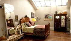 Ive been watching white collar with my grandmother and Im in love with Neal's studio.. amazing features