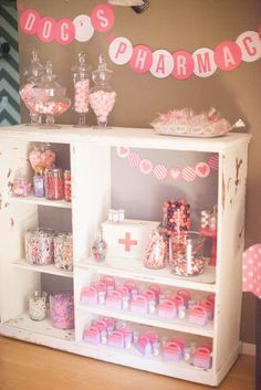 Candy prescriptions were filled at Doc's Pharmacy.  Source: Jenny Cookies